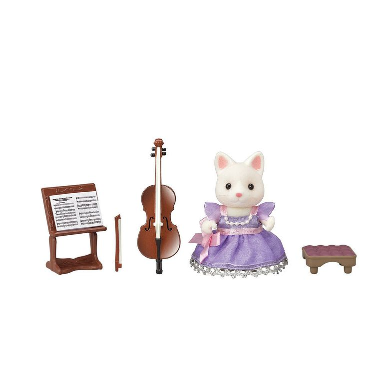 Calico Critters Town Series Cello Concert Set
