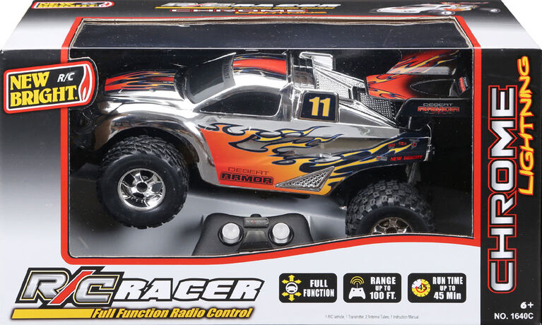 New Bright RC 1:24 Scale Buggy Radio Con - Desert ARMOR- 49.86 MHZ  - 11