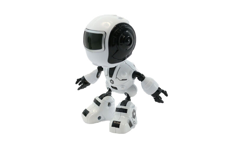 Braha Infrared Control Full Function Robot - White