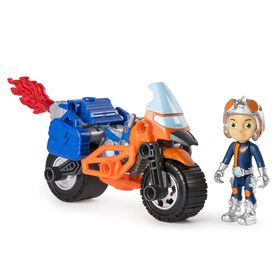 Rusty Rivets - Rusty's Supermoto with Pullback Wheels and Figure