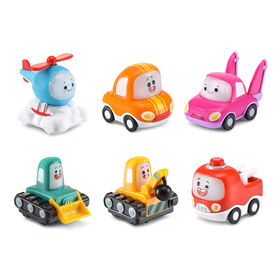 VTech Tut Tut Cory Bolides Zone Surprise Mini Character 6-Pack - French Edition