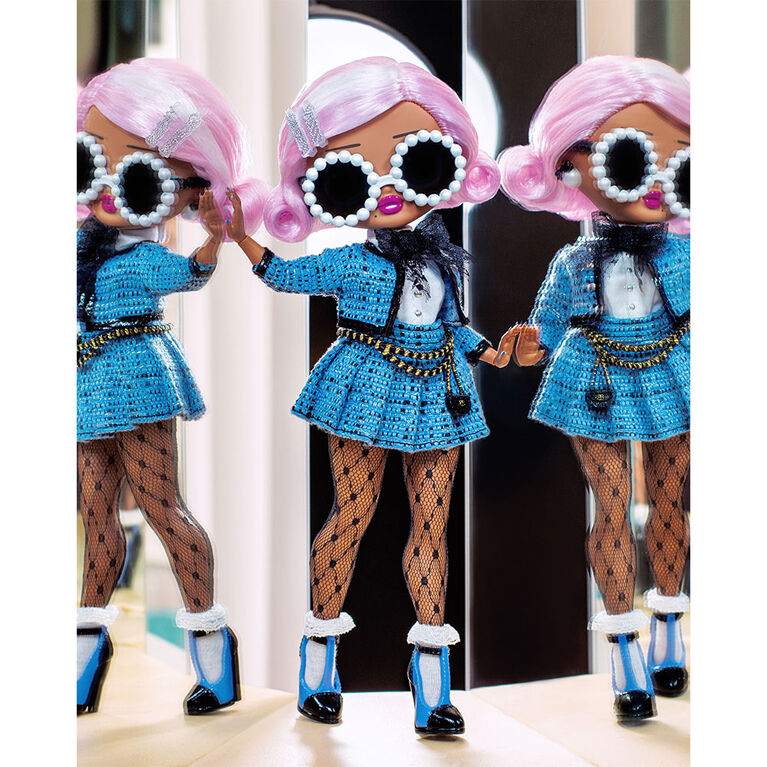 Poupée-mannequin L.O.L. Surprise! O.M.G. Uptown Girl avec 20 surprises