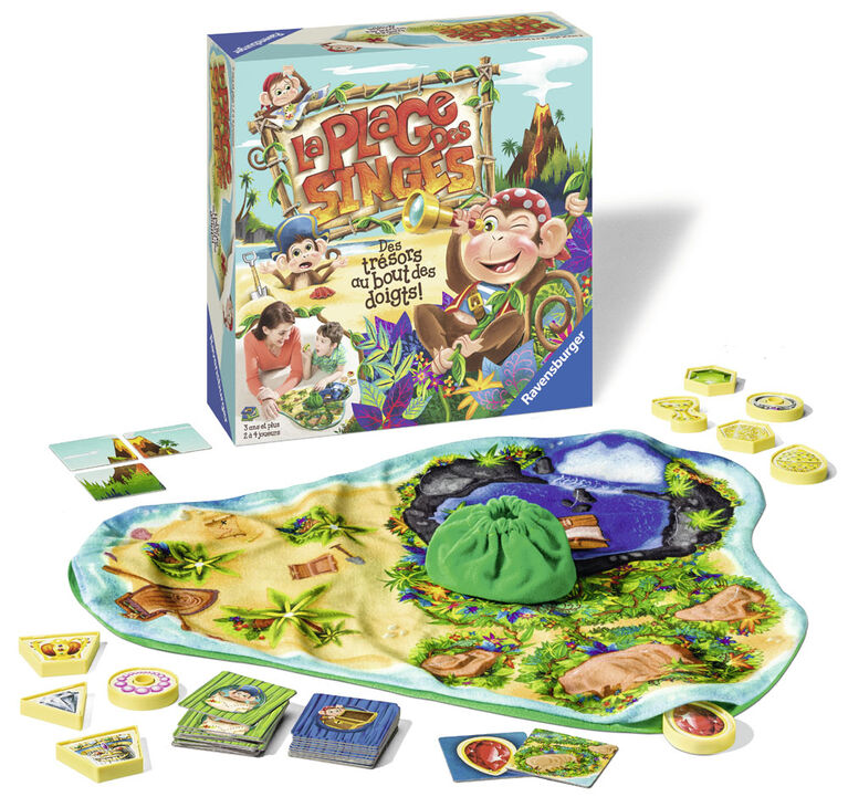 Monkey Beach Game - French Edition