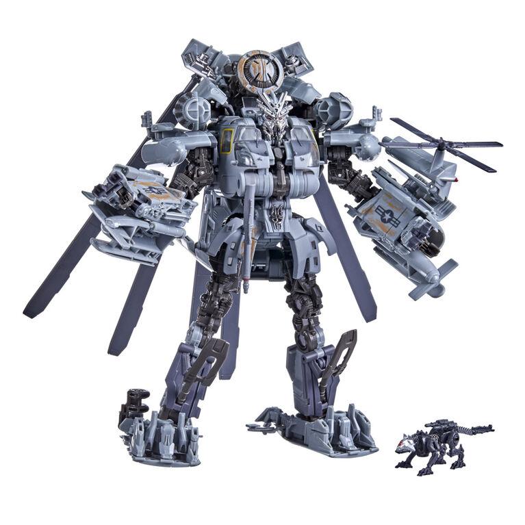 Transformers Studio Series 73, Transformers : La Revanche, figurines Grindor et Ravage classe Leader