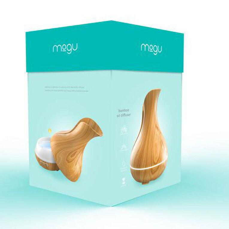 Mogu 300ML Ultrasonic Aromatherapy Wireless Diffuser - Wood Finish