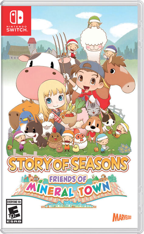 Nintendo Switch Story Seasons Friend Mineral Town