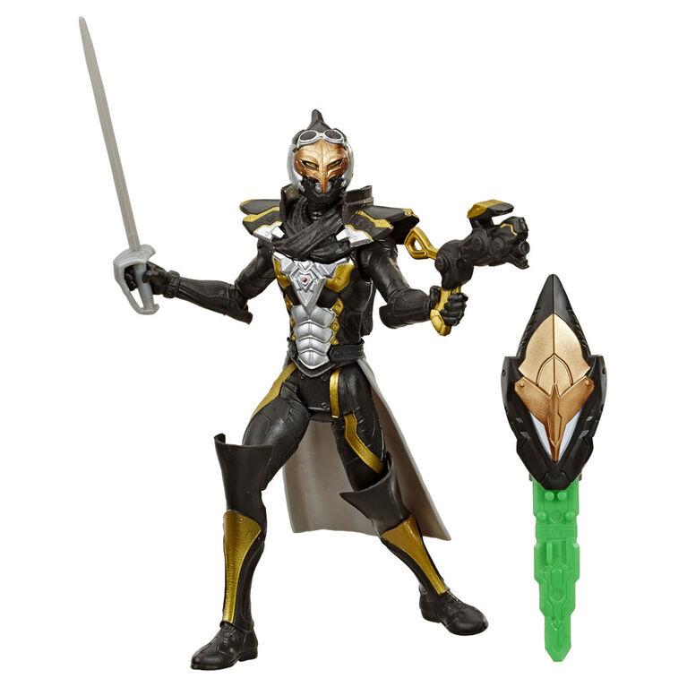 Power Rangers Beast Morphers - Figurine jouet de 15 cm Cybervillain Robo Blaze inspirée de la série télé Power Rangers