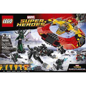 LEGO Super Heroes Marvel Thor La bataille suprême pour Asgard 76084.