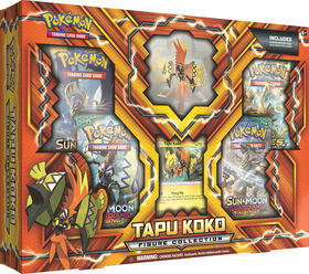 Pokémon TCG: Tapu Koko Figure Collection