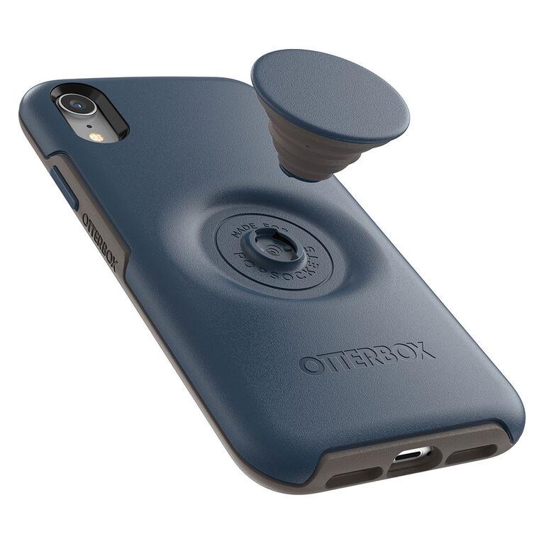 Otterbox Otter+Etui Pop Symmetry PopTop Go To Blue pour iPhone XR