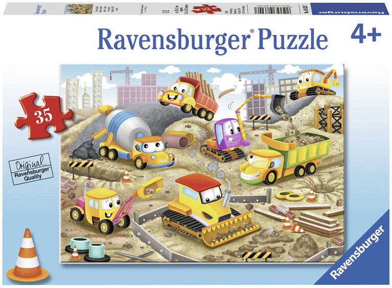 Ravensburger - Raise the Roof! Puzzle 35pc