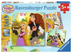 Ravensburger - La grande chevelure Disney Raiponce casse-têtes 3 x 49pc