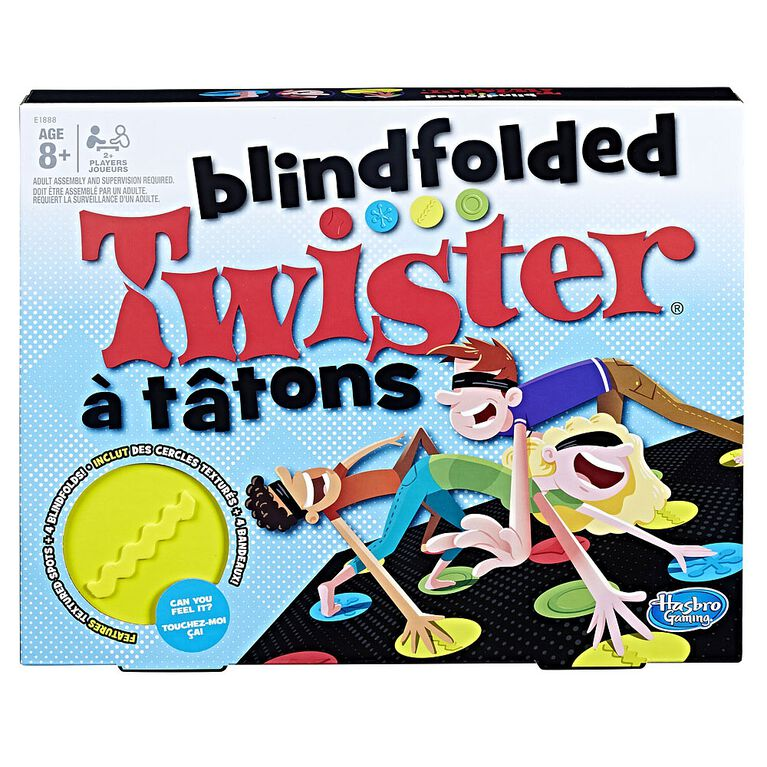 Hasbro Gaming - Blindfolded Twister Game