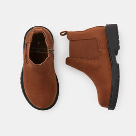 classic adventure chelsea boot , size 7 - Brown