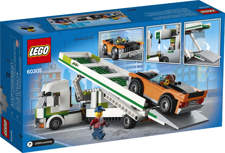 LEGO City Great Vehicles Car Transporter 60305