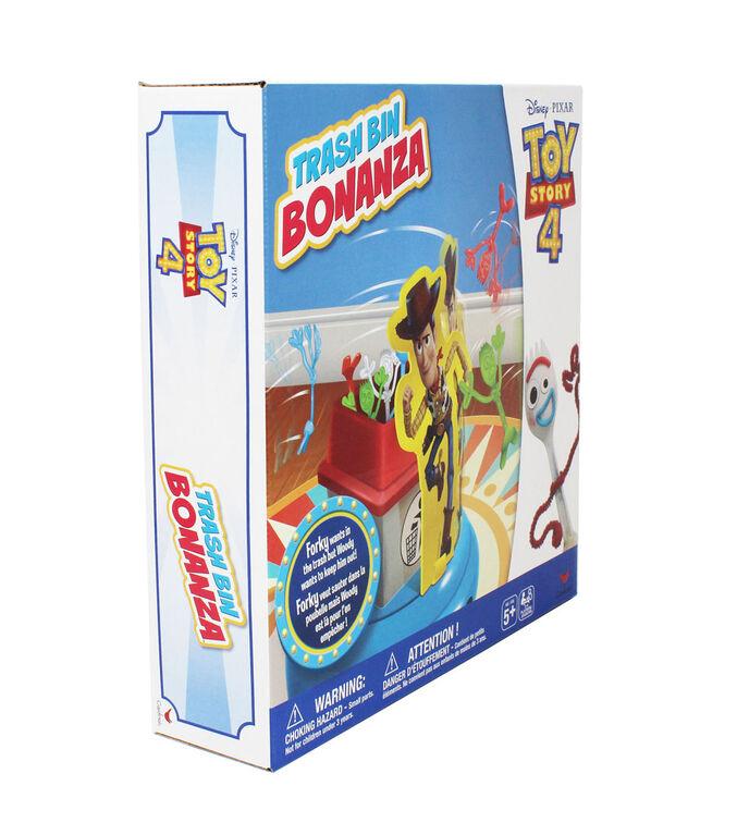 Disney Pixar Toy Story 4 Trash Bin Bonanza Game