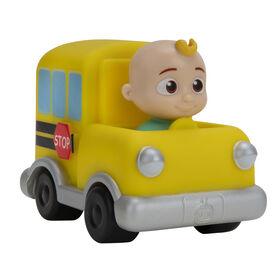 CoComelon - Mini véhicules - Autobus scolaire - Édition anglaise
