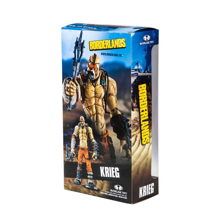 McFarlane Toys Borderlands Figurine - Krieg