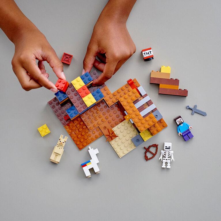 LEGO Minecraft Le comptoir d'échange 21167