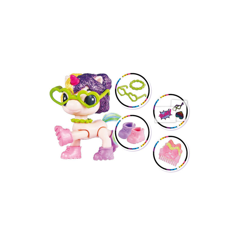5 Surprise Unicorn Squad Series 2 Mystery Collectible Capsule
