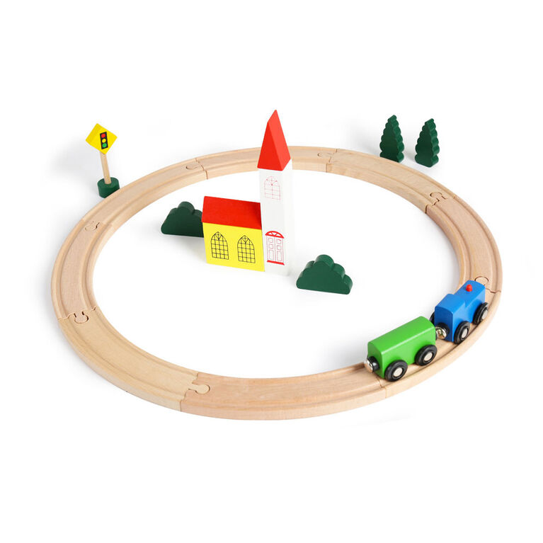 Imaginarium Discovery - Circle Train Set 19 Pieces