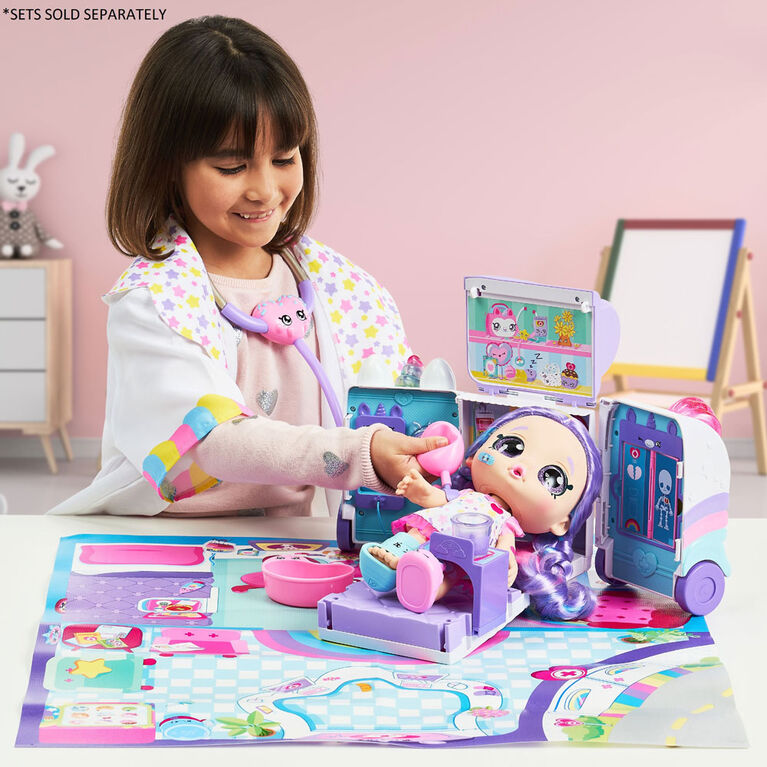 Kindi Kids Snack Time Friends: Ambulance Playset - R Exclusive