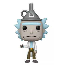 Funko POP! Animation: Rick and Morty - Rick with Funnel Hat - R Exclusive