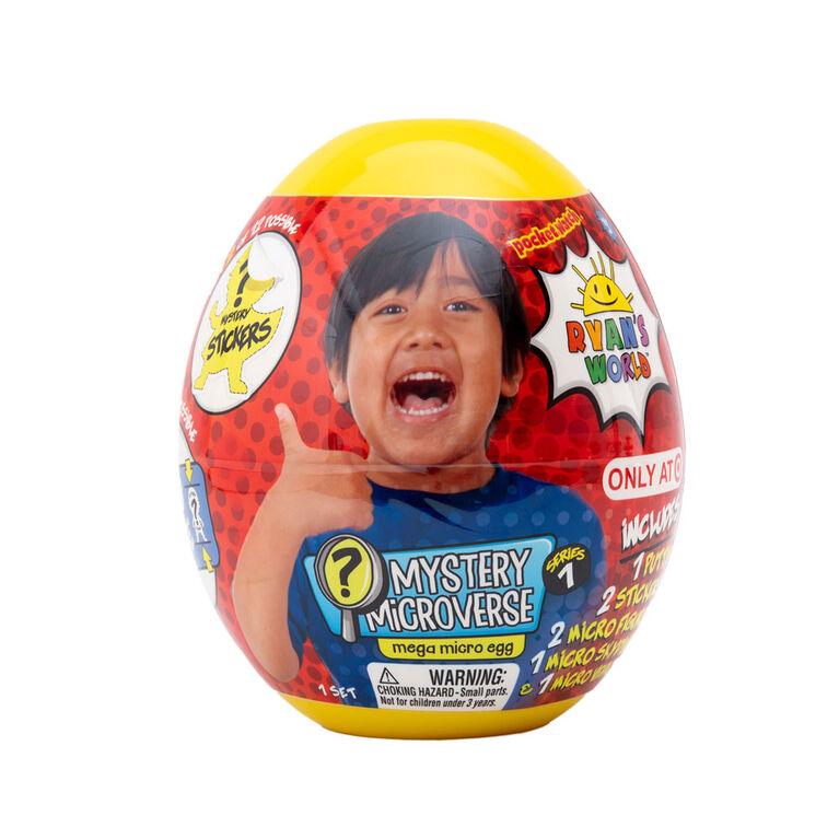 Ryan's World -  Mega Micro Egg - English Edition