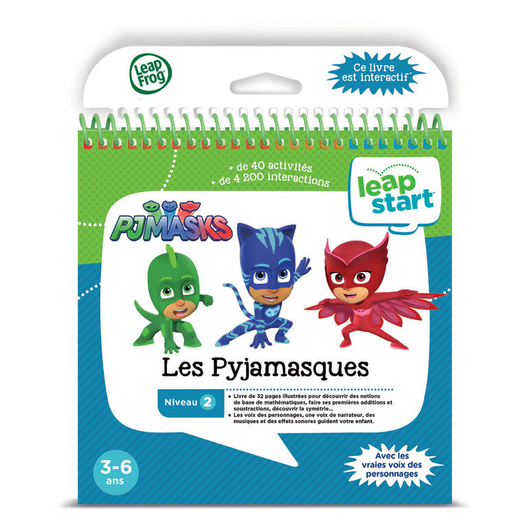 LeapFrog® LeapStart® Moonlight Hero with PJ Masks - Activity Book - French Edition