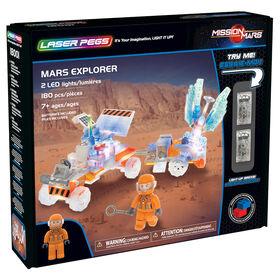Laser Pegs, Collection Mission sur Mars - Mars Explorer 180 morceaux
