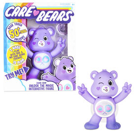 Care Bears Unlock the Magic Interactive Figures - Share Bear- English Edition