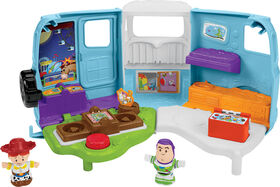 Little People Disney Pixar Toy Story Jessie's Campground Adventure Playset