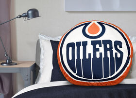 NHL Logo Pillow - Edmonton Oilers