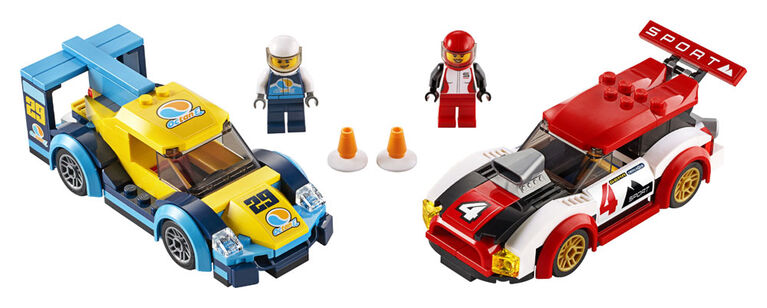 LEGO City Nitro Wheels Les voitures de course 60256