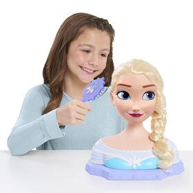 Tête de Coiffure De Luxe Elsa de La Reine Des Neiges Disney - R Exclusif