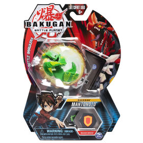 Bakugan, Mantonoid, 2-inch Tall Collectible Action Figure and Trading Card