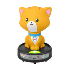 Fisher-Price Laugh & Learn Crawl-After Cat on a Vac - Bilingual Edition