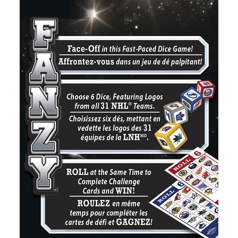 NHL Fanzy Speed Dice Game