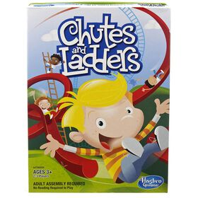 Hasbro Gaming - Chutes and Ladders Jeu