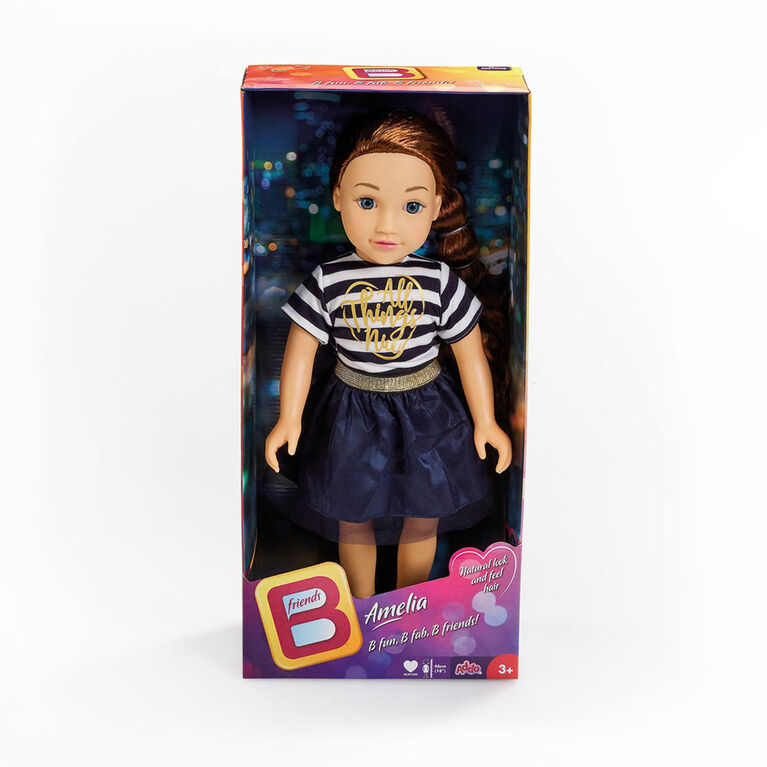 B Friends 18 inch Doll - Amelia - English Edition