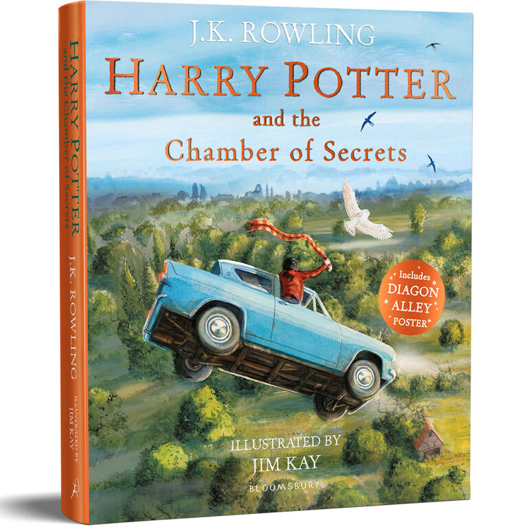 Harry Potter and the Chamber of Secrets - Édition anglaise
