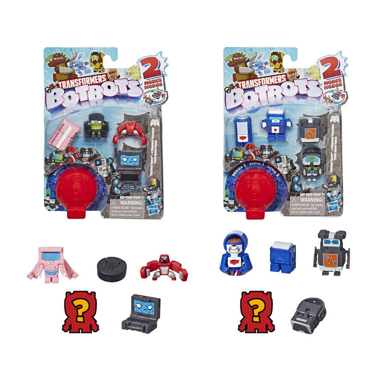 Transformers BotBots Toys Series 1 Techie Team 5-Pack