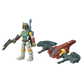 Star Wars Mission Fleet Gear Class Boba Fett Capture in the Clouds 2.5-Inch-Scale Figure and Vehicle
