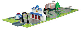 Robocar Poli - Brooms Town Map: Headquarters