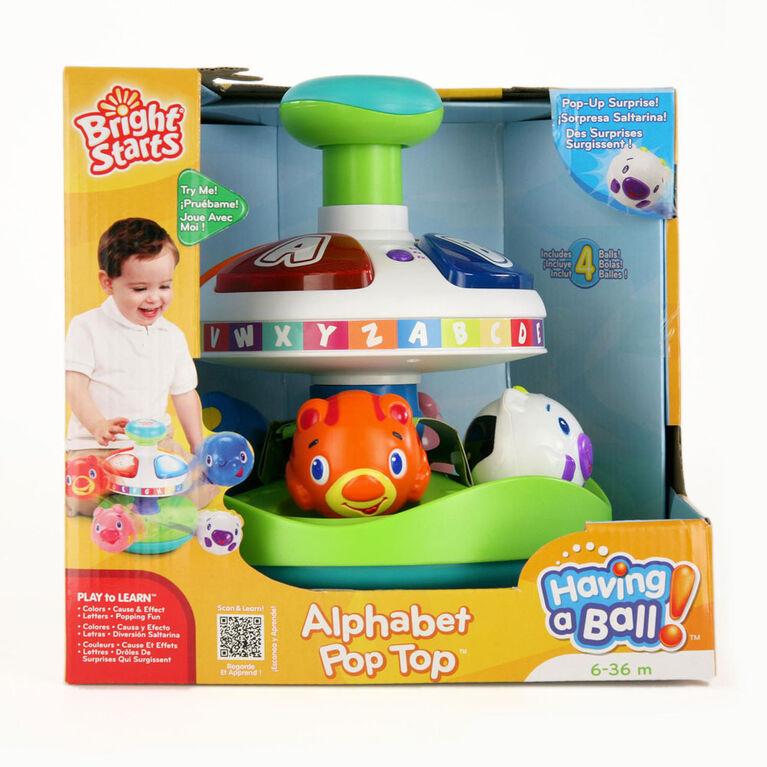 Bright Starts - Having a Ball - Alphabet Pop Top