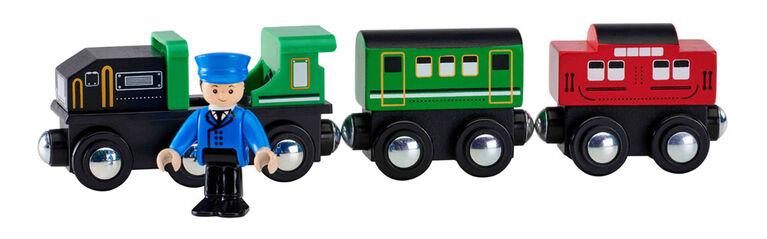 Imaginarium Express - Ensemble Train et figurine articulée - Locomotive