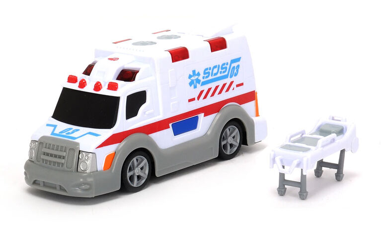 Dickie Toys Rescue Team - Sosrescue Ambulance