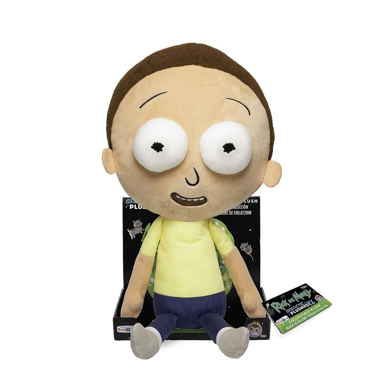 "Funko Supercute Plushies: Rick and Morty - Morty 16"" Plush Figure - R Exclusive"