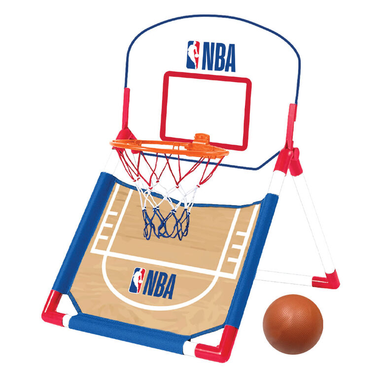 NBA -2-In-1 Junior Toy Basketball Game Set - R Exclusive