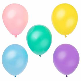 """12"""" Latex Balloons, 10 pieces - Assorted Pastel"""